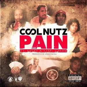 Cover to Cool Nutz's single Pain