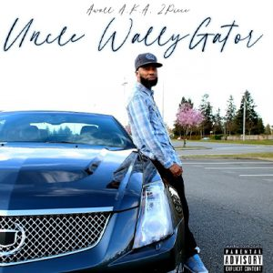 """Awall has a new album in """"Uncle Wallygator"""" and on the cover for it he leans on the driver side door of a nice Cadillac."""