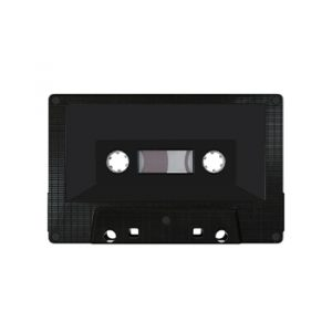 Cover for the Black Tape NW is a black cassette tape against a white background.
