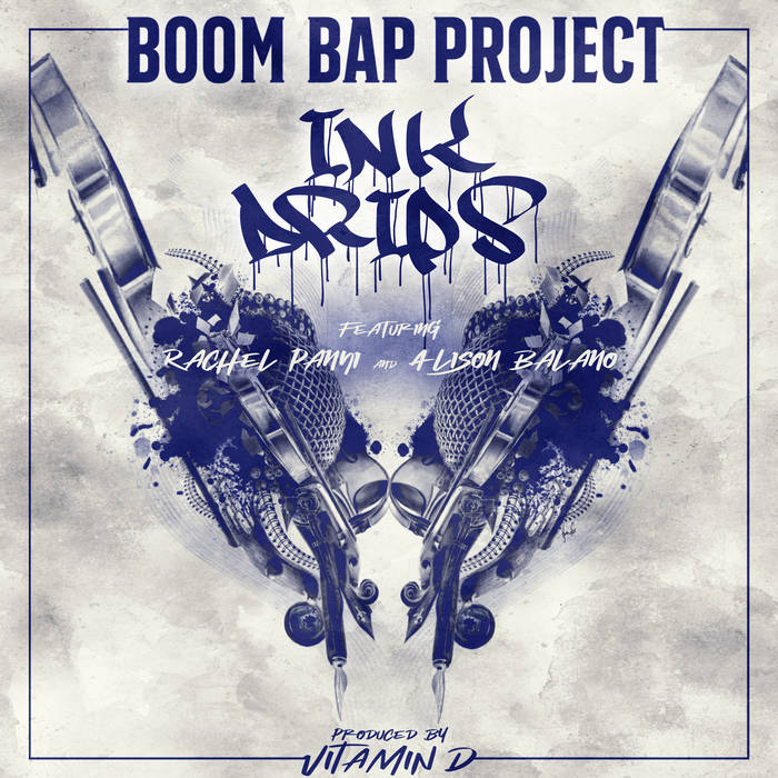 """Cover for Boom Bap Project video """"Ink Drips"""""""