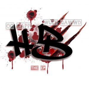 """Cover for Wulf Gawwd and O.G. Rapp EP """"Hurt Bidnezz"""""""